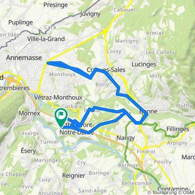 159 Route de Truaz, Arthaz-Pont-Notre-Dame nach 4 Impasse du Mont Blanc, Arthaz-Pont-Notre-Dame