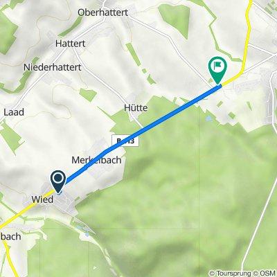 Kirchweg 10, Wied nach Vor der Struth, Hachenburg