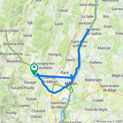 De 460O Route des Étoiles, Prissé à 460O Route des Étoiles, Prissé