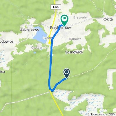 Trasa do Golczewska 7A, Przybiernów