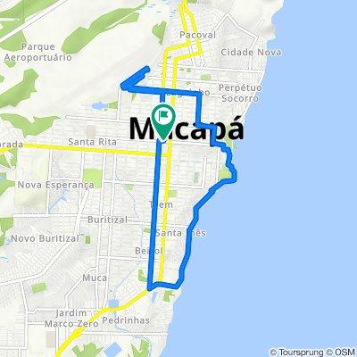 De Avenida Mendonça Furtado 1068 a Avenida Mendonça Furtado 1052