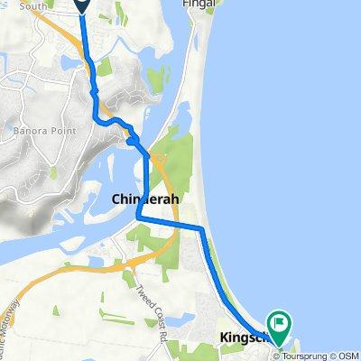 70 Minjungbal Drive, Tweed Heads South to 2–18 Moss Street, Kingscliff
