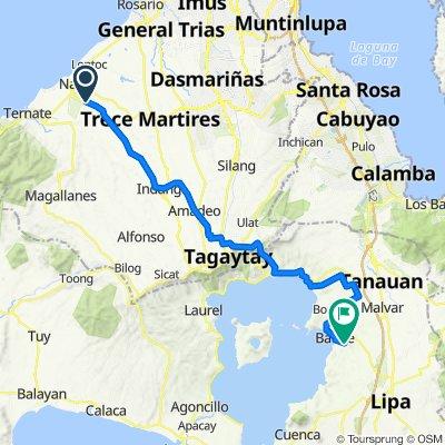 Naic - Indang Road to J M Katigbak, Balete