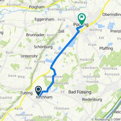 Am Steinbergerfeld 8, Kirchham nach Simbacher Straße 9, Pocking