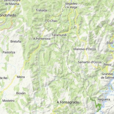 Vegadeo-Lagoaseca. 4400m en 130km