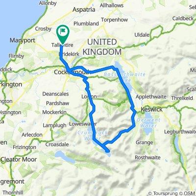 Lorton - Buttermere - Newlands Pass