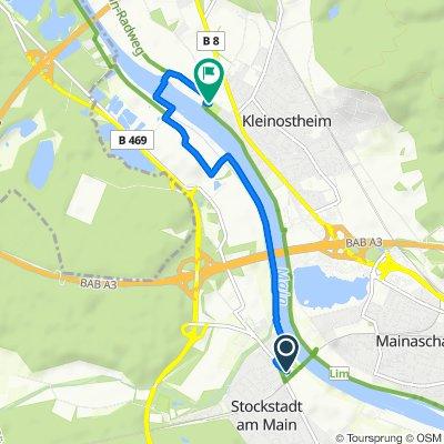 Alter Stadtweg 9, Stockstadt am Main nach Friedhofstraße 31, Kleinostheim