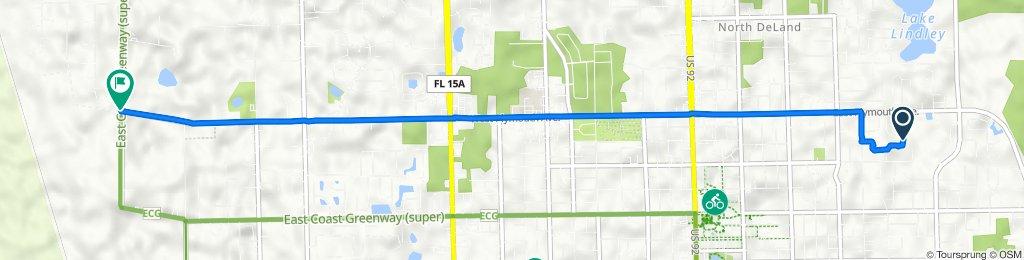 920 Pine Tree Terr, DeLand to 1200–1218 Grand Ave, Deland