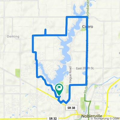 Wythe Drive 7201, Noblesville to Wythe Drive 7201, Noblesville