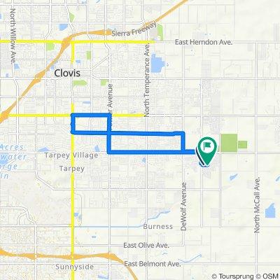 3469 Del Monte Ave, Clovis to 3475 El Dorado Ave, Clovis