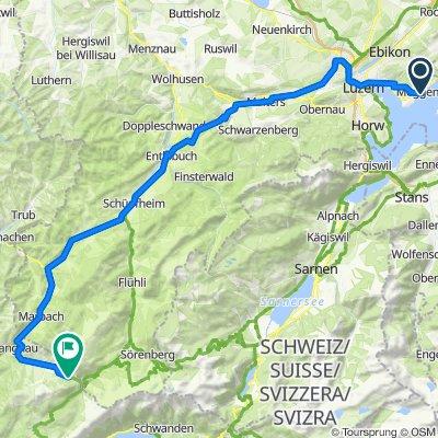 Benzeholzstrasse 43, Meggen nach Kemmeribodenbad 180, Schangnau