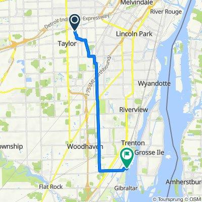 Tulane Street 7547, Taylor to West Jefferson Avenue 5437, Trenton