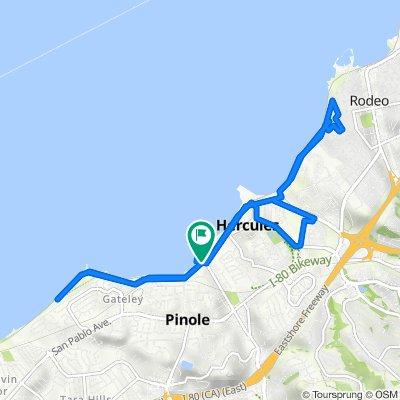 San Francisco Bay Trail, Pinole to San Francisco Bay Trail, Pinole