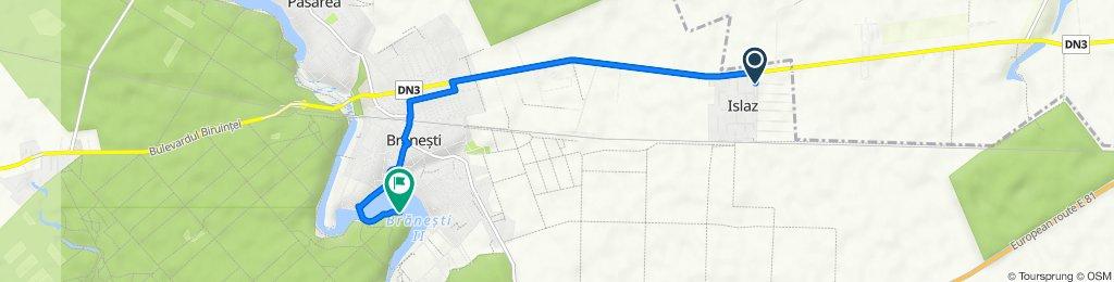 Strada Doina 20, Islaz to Comuna Brănești