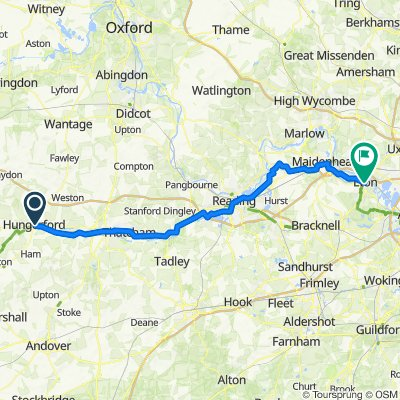 NCR4 Hungerford to Winsor