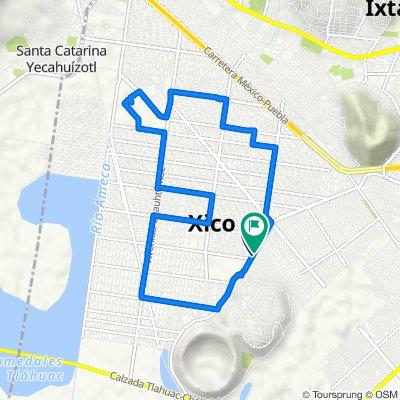De Avenida Antonio Diaz Covarrubias 1011, Valle de Chalco Solidaridad a Sur 15 1013, Xico