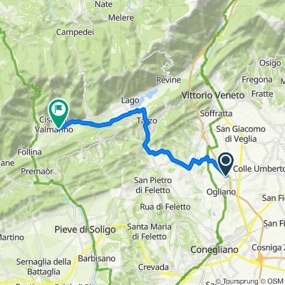 Da Via Pastin Santin 29A, Scomigo a Via Sanavalle 7B, Cison di Valmarino