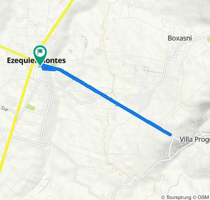 De Calle Mariano Escobedo 107, Ezequiel Montes a Calle Mariano Escobedo 105, Ezequiel Montes
