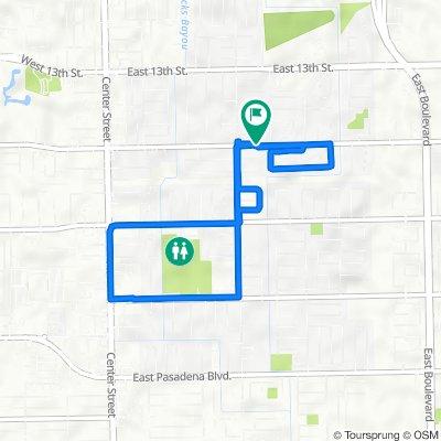 1201 E X St, Deer Park to 1201 E X St, Deer Park