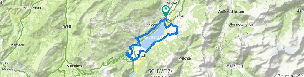 Sarnersee-Giswil-FlüeliRanft