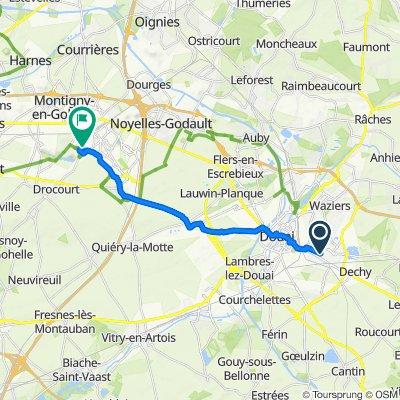 De 115 Rue Voltaire, Sin-le-Noble à 675 Rue Pierre Brossolette, Hénin-Beaumont