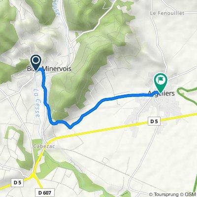 De 13–19 Chemin de Mailhac, Bize-Minervois à 5 Avenue des 87, Argeliers