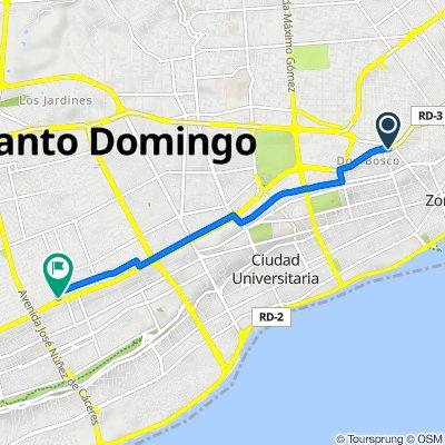 De Avenida 27 de Febrero 96, Santo Domingo a Av. 27 de Febrero Proximo C/ Winston Arnaud, Santo Domingo