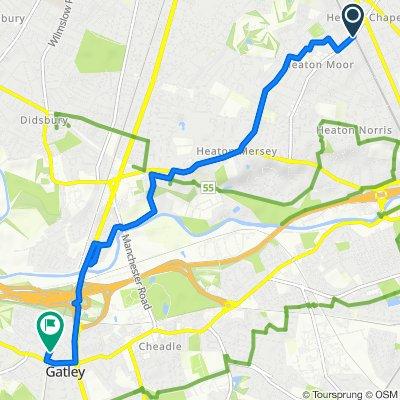 1 Tatton Road  S, Stockport to Cambridge Road, Cheadle