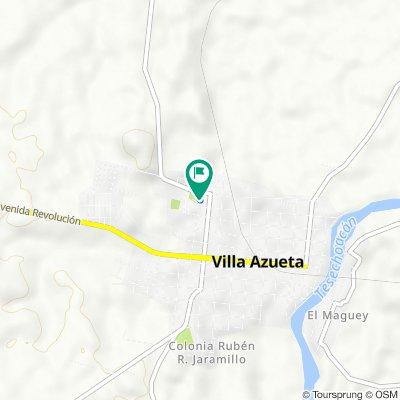 De Calle Venustiano Carranza 34–40, José Azueta a Calle Cuauhtémoc 34, José Azueta
