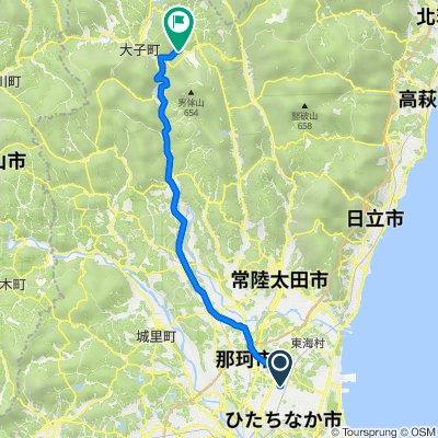 3-chōme, Hitachinaka to Fukuroda Falls, Daigo