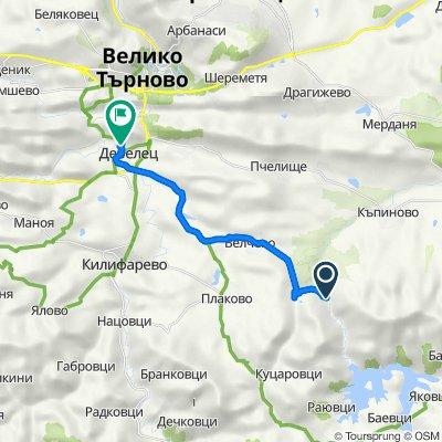 Bulgaria to улица Александър Стамболийски 31, Debelets