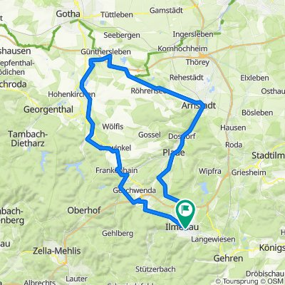 2021-05-14: Ilmenau - Ohrdruf - Arnstadt