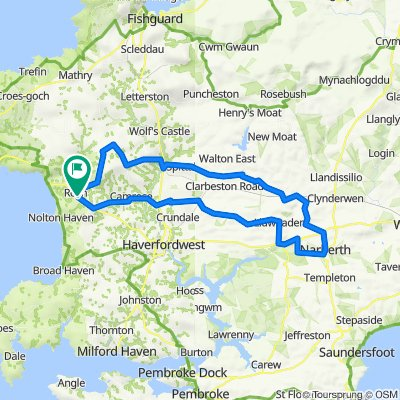 Roch to Narberth and back