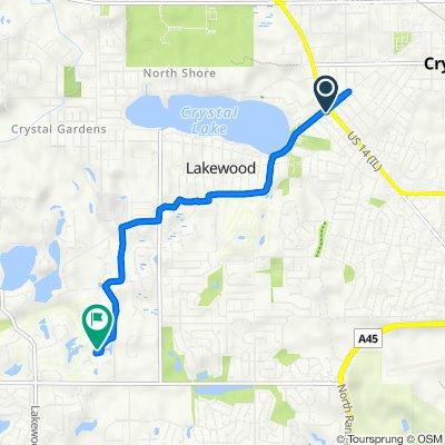 471 W Virginia St, Crystal Lake to 8373 Condor Cir, Lakewood