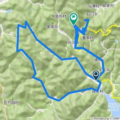 Moganshan Route (from SRC)