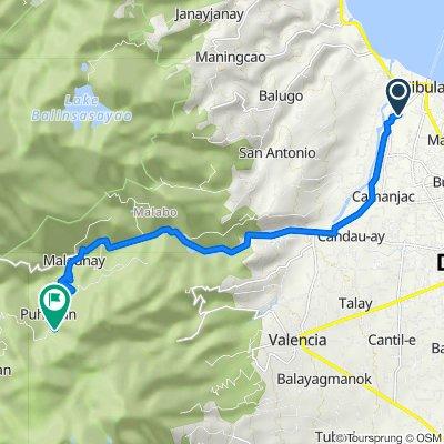 Unnamed Road, Sibulan to Unnamed Road, Valencia