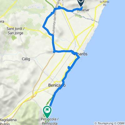 Ruta III: Alcanar-Peníscola