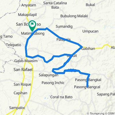 Cagayan Valley Road, San Ildefonso to Cagayan Valley Road, San Ildefonso