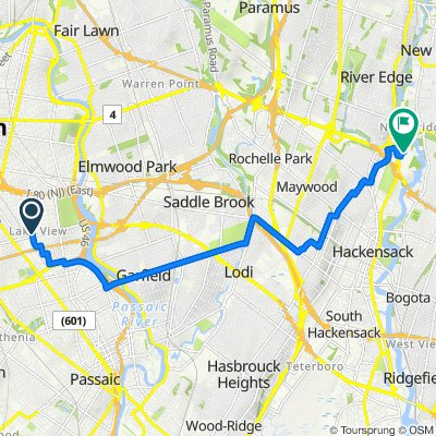 383–387 Wabash Ave, Paterson to 466 Hackensack Ave, Hackensack