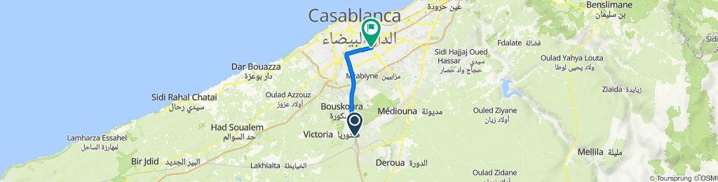 N11, Bouskoura to Marj Drissia M, Casablanca