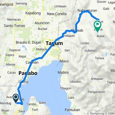 Malagamot Road, Davao City to Nabunturan-Mainit Park Road