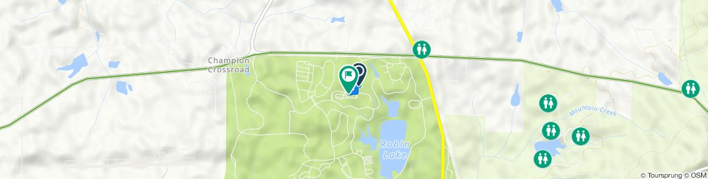 2389 Southern Pine Dr, Pine Mountain to 4520–4546 Southern Pine Dr, Pine Mountain