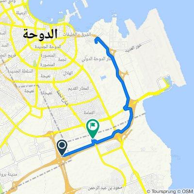 G Ring Road, Doha to الدوحة