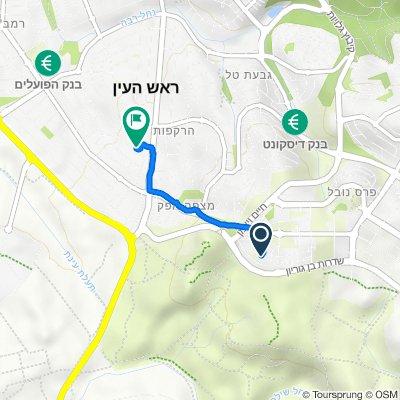 Gertrude Elyun Street, Rosh Haayin to Hamatmid Street 31, Rosh Haayin