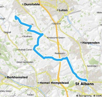 VCC Dunstable to St Albans 16 m