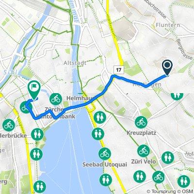 Dolderstrasse 23–27, Zürich nach Bleicherweg 21A, Zürich