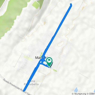 Da Via Alcide De Gasperi 19–31, Marconia a Via Togliatti 1, Marconia