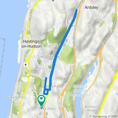 1283–1335 Nepperhan Ave, Yonkers to 495 Odell Ave, Yonkers
