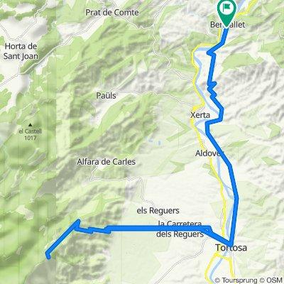 Mont Caro desde Benifallet