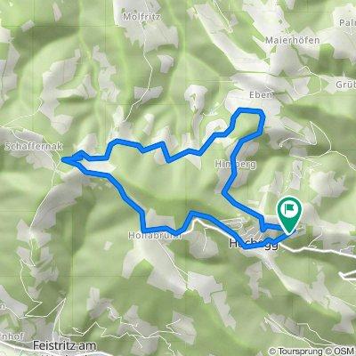 Hochegg - Grubbauern Höhe 11 km 250 hm 2021